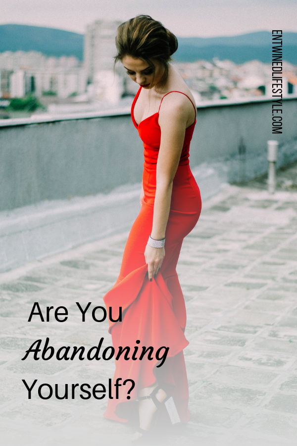 Do you find yourself pleasing everyone else around you no matter the cost? You rather save the relationship versus saving your own emotional needs? If you are then you are abandoning yourself and here is how to stop. #selfabandonment #abandoment #self-love