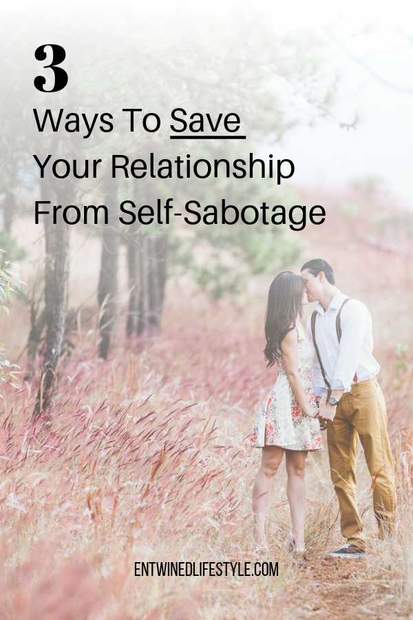 Do you find yourself self-sabotaging your happiness when it comes to relationships? More than likely you're doing this because you are putting all your energy into your relationship when you should be putting it into yourself. Seeking your self-worth from a partner is the quickest way to destroy a connection. Save your relationship with these 3 dating tips. #relationships #relationshipadvice #selfhelp