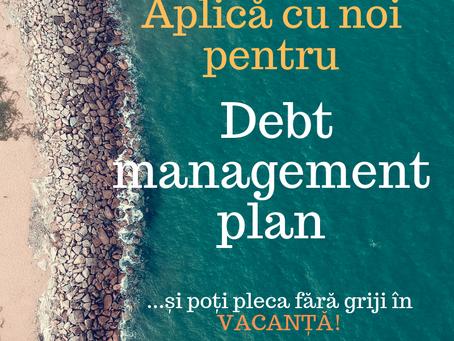 Planul de gestionare a datoriilor