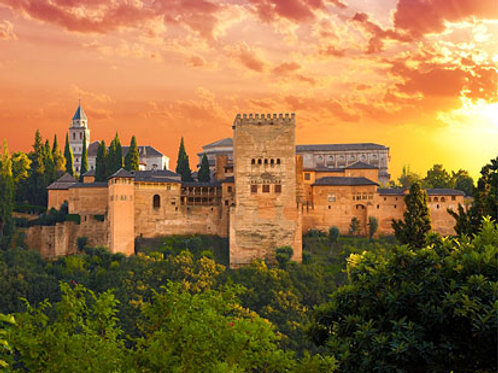Seville, Córdoba, Ronda & Granada (Alhambra)