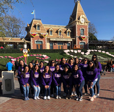 Disneyland with sisters