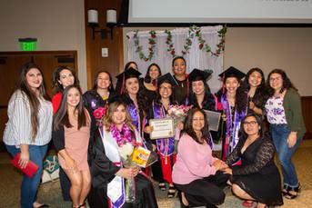 Graduating sisters