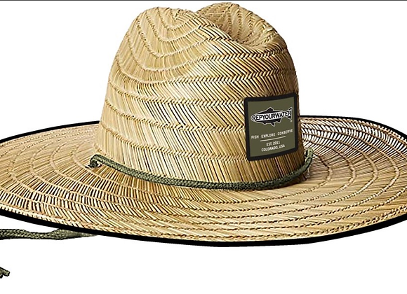 Rep Your Water River Shade Straw Hat
