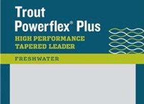 RIO Powerflex Plus 9'  Trout Leader (3 pack)