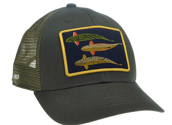 Rep Your Water Silhouette Trio Hat
