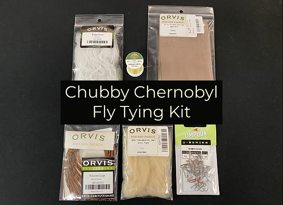 Chubby Chernobyl Fly Tying Bundle