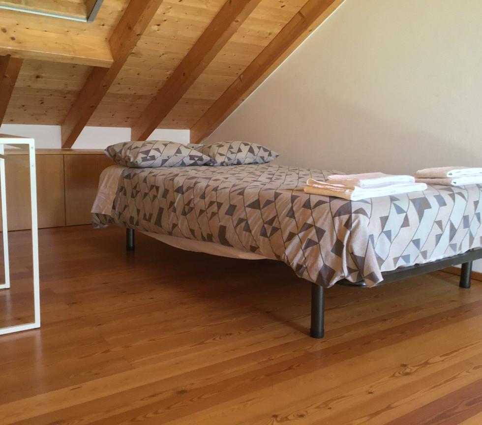 Mezanino sleeping area