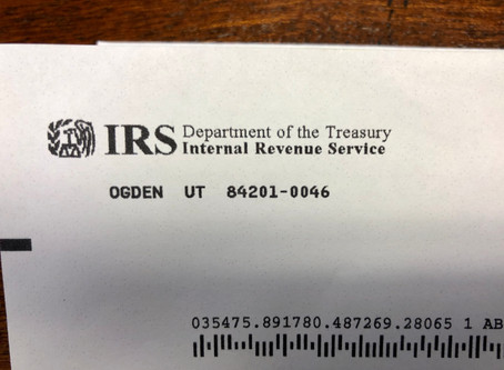 What to do if you got a Nastygram from the IRS
