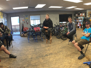 Steel Wheel Alleycat Youth Planning Committee - making moves!