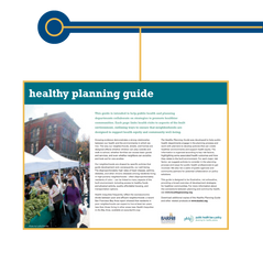 Healthy Development and Land Use Guide