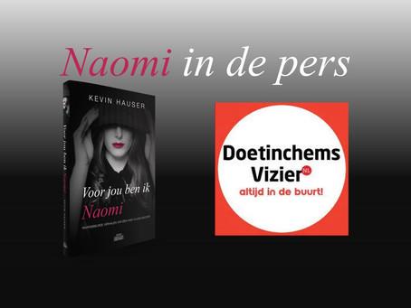 Naomi in de pers: D'chems Vizier 13 september '21