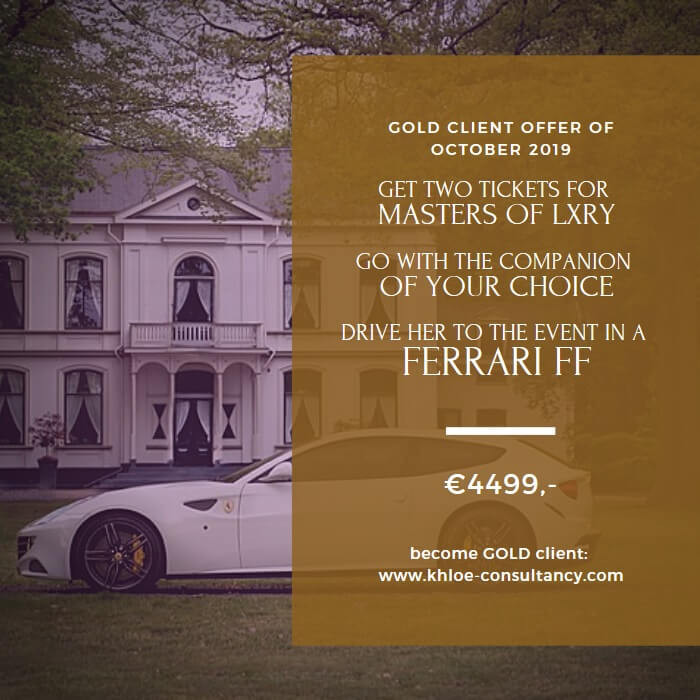 De Gold Offer van oktober 2019 bevatte een Ferrari FF