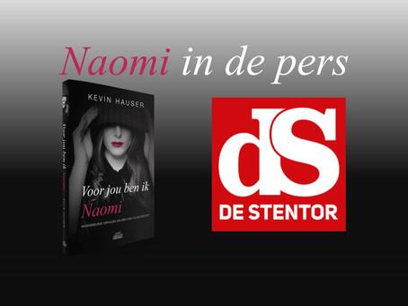Naomi in de pers: 9 oktober '21 De Stentor