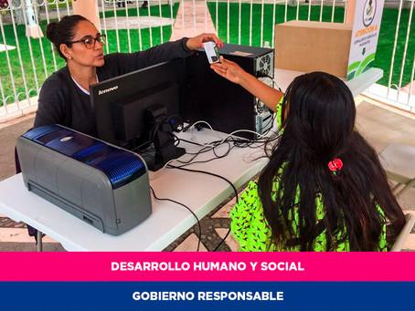 Otorga credenciales Gobierno del Estado a personas jornaleras agrícolas