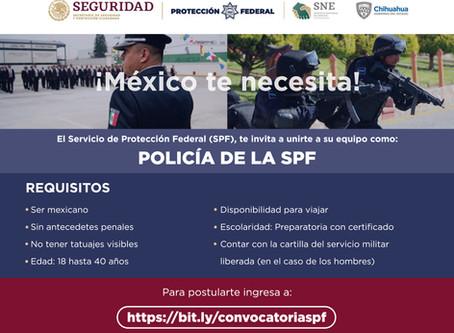 Invitan a sumarse a la Policía de Protección Federal