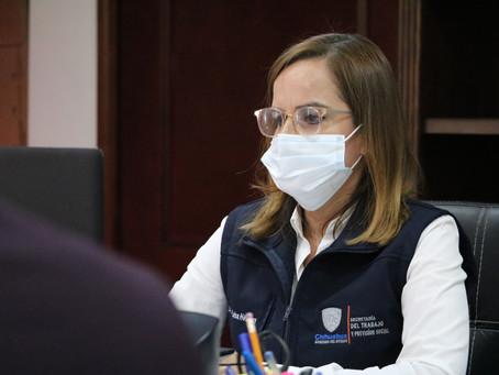 Mantiene STPS labor intensiva de vigilancia a centros de trabajo