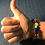 Thumbnail: Chakra Lava Stone Bead Bracelet