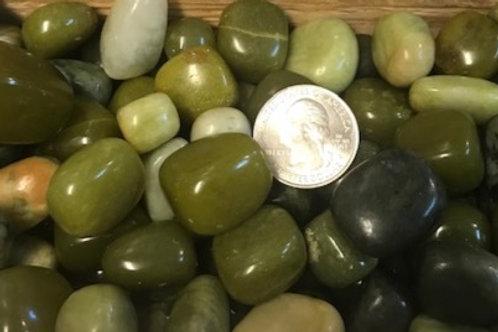 Tumbled Serpentine Stone