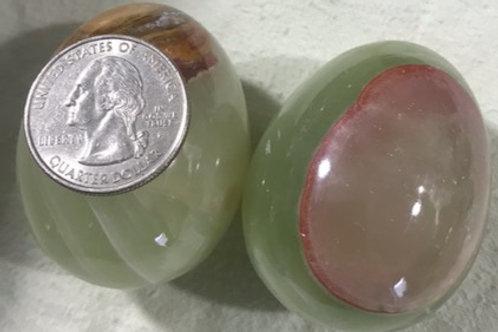 Small Polished Onyx Egg
