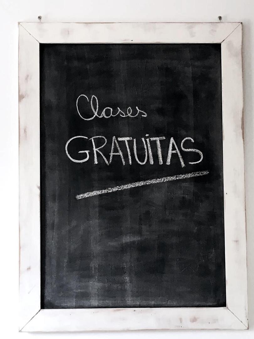 Clases Gratuitas