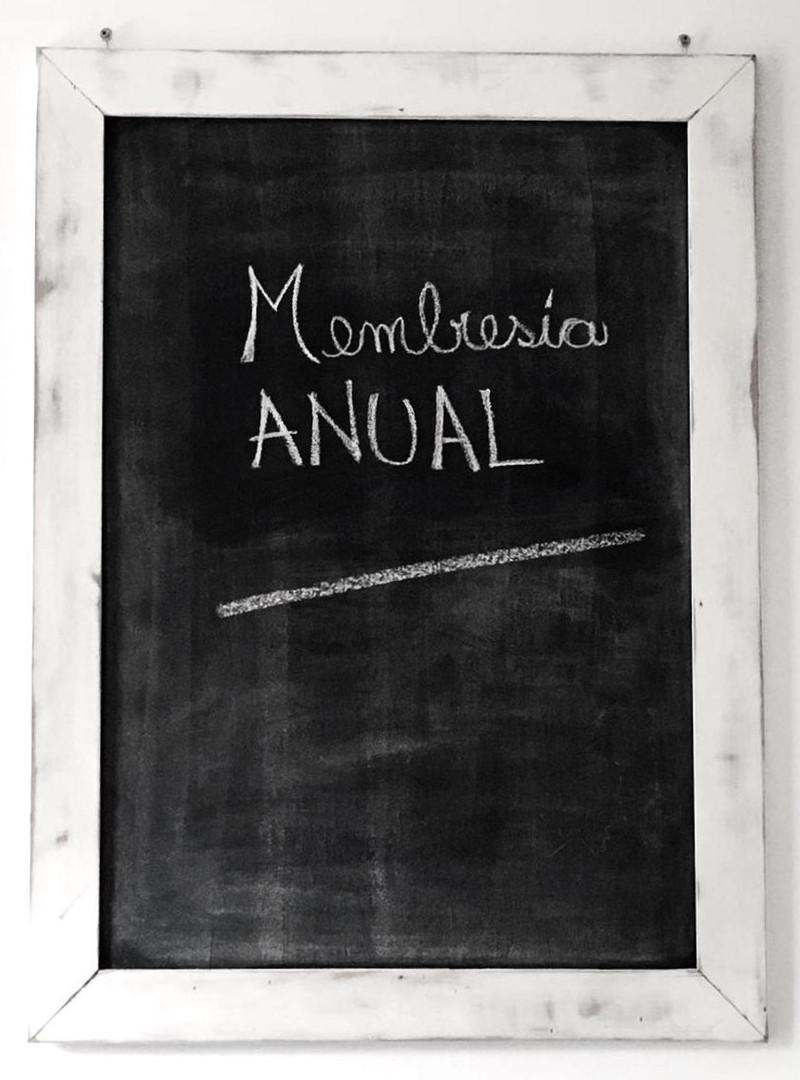 Membresía Anual
