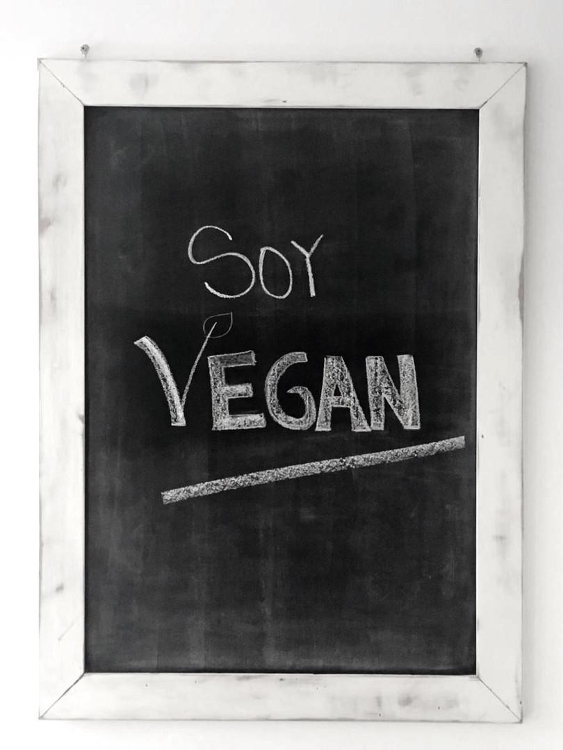 Soy Vegan