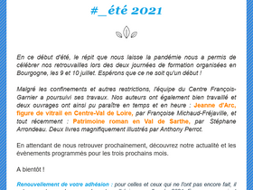 Lettre d'information #_été 2021
