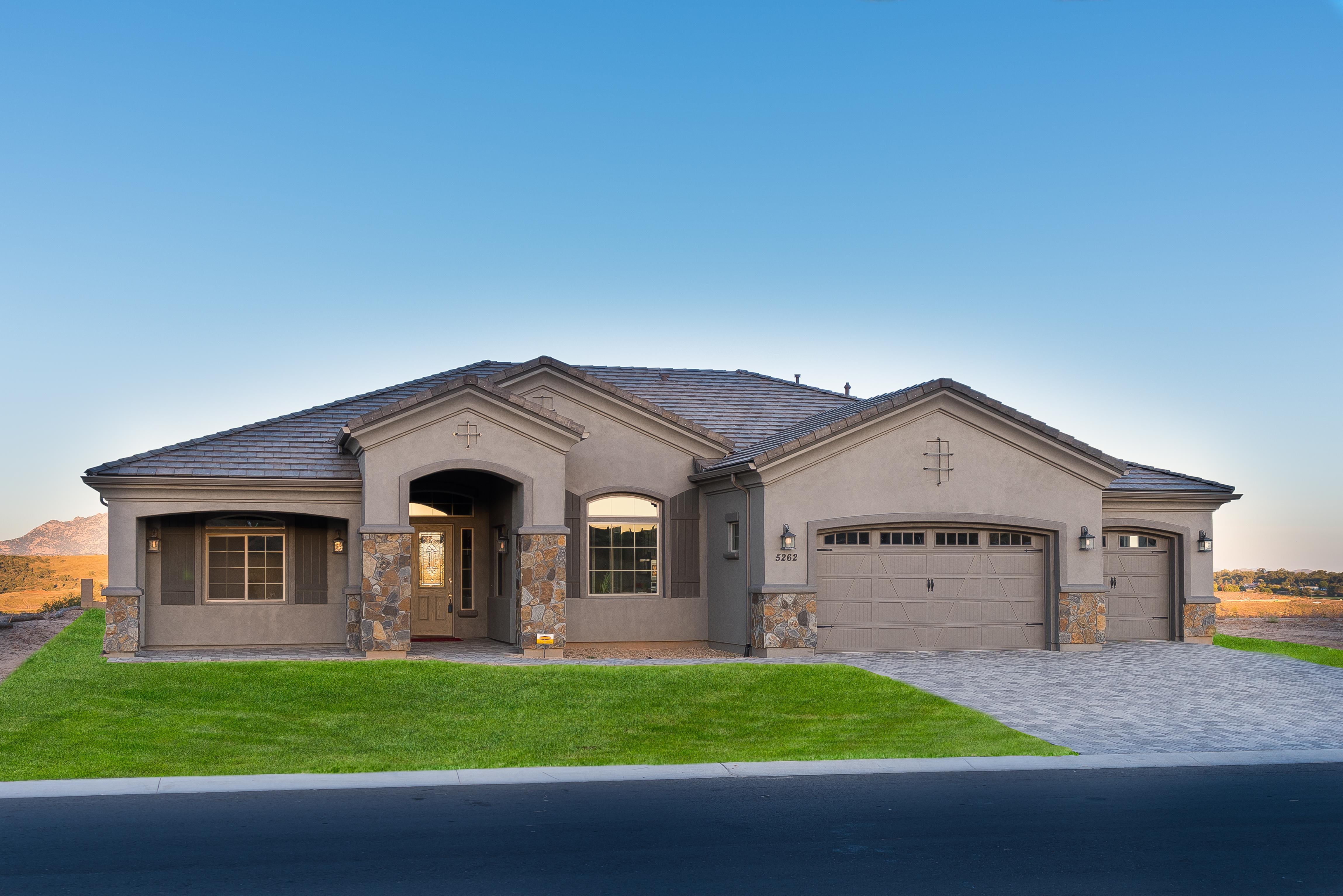 New homes in prescott az carrington homes for Arizona home builders