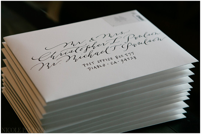 The Proper Way to Address Wedding Envelopes