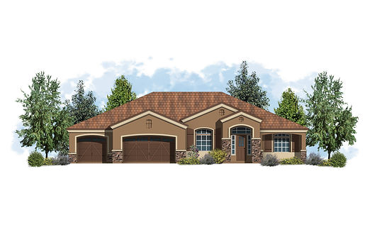 Carrington Homes - Plan 2555