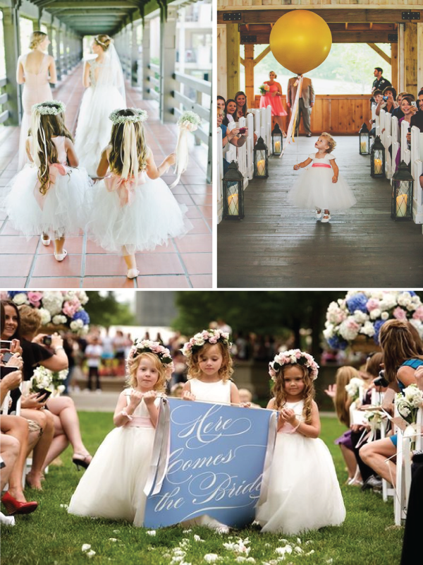 Flower Girl Alternatives to Flowers