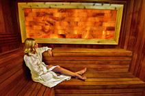 Spa Anjali now offering new Himalayan Crystal Salt Sauna