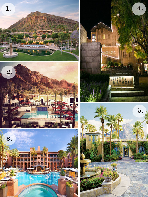 Amy's Picks: Top 5 Resorts