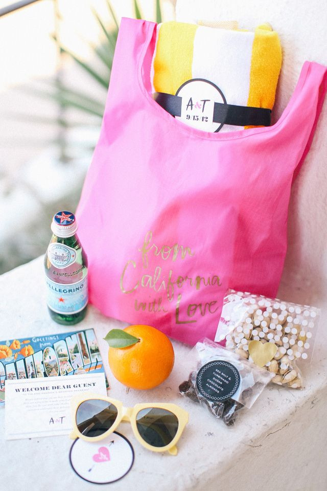 Best Wedding Welcome Bag Gift Ideas