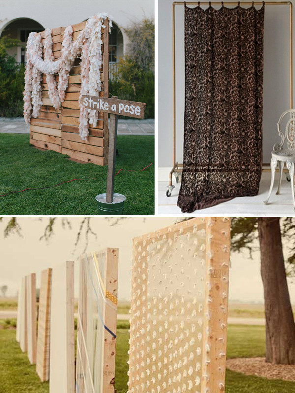 Photo Booth Backdrop Ideas