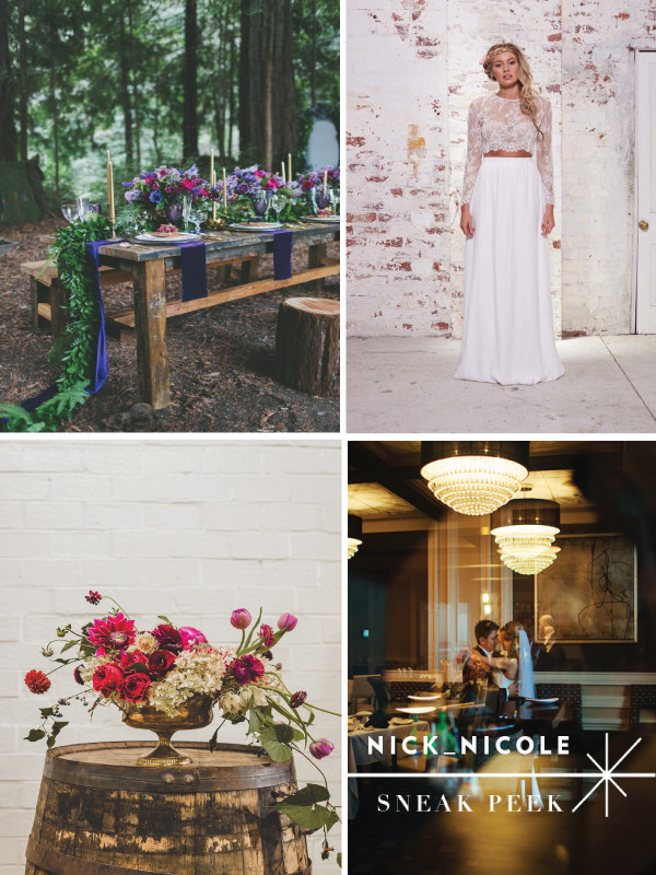 A Glace Into 2016 Wedding Trends