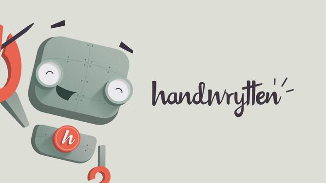 Handwrytten