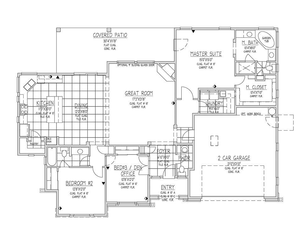 Carrington Homes - New Homes in Prescott Floorplans