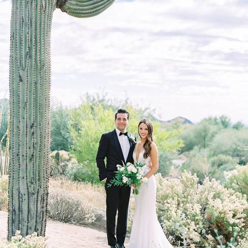 Four Seasons Resort Scottsdale, Ironwood Lawn Wedding