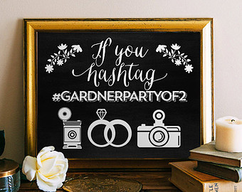 Wedding Hashtag Generator