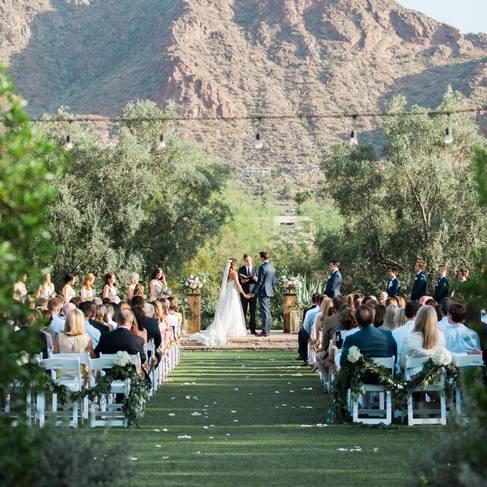 Classic El Chorro Wedding