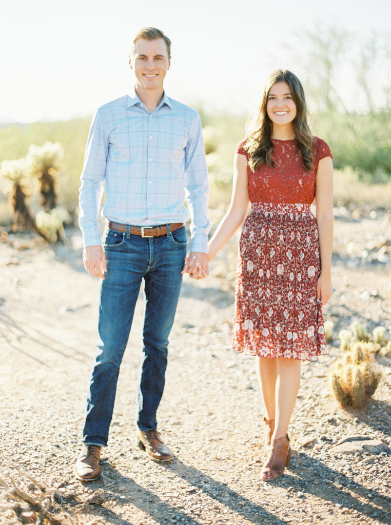 AZ Engagement Photographer | Elyse Hall