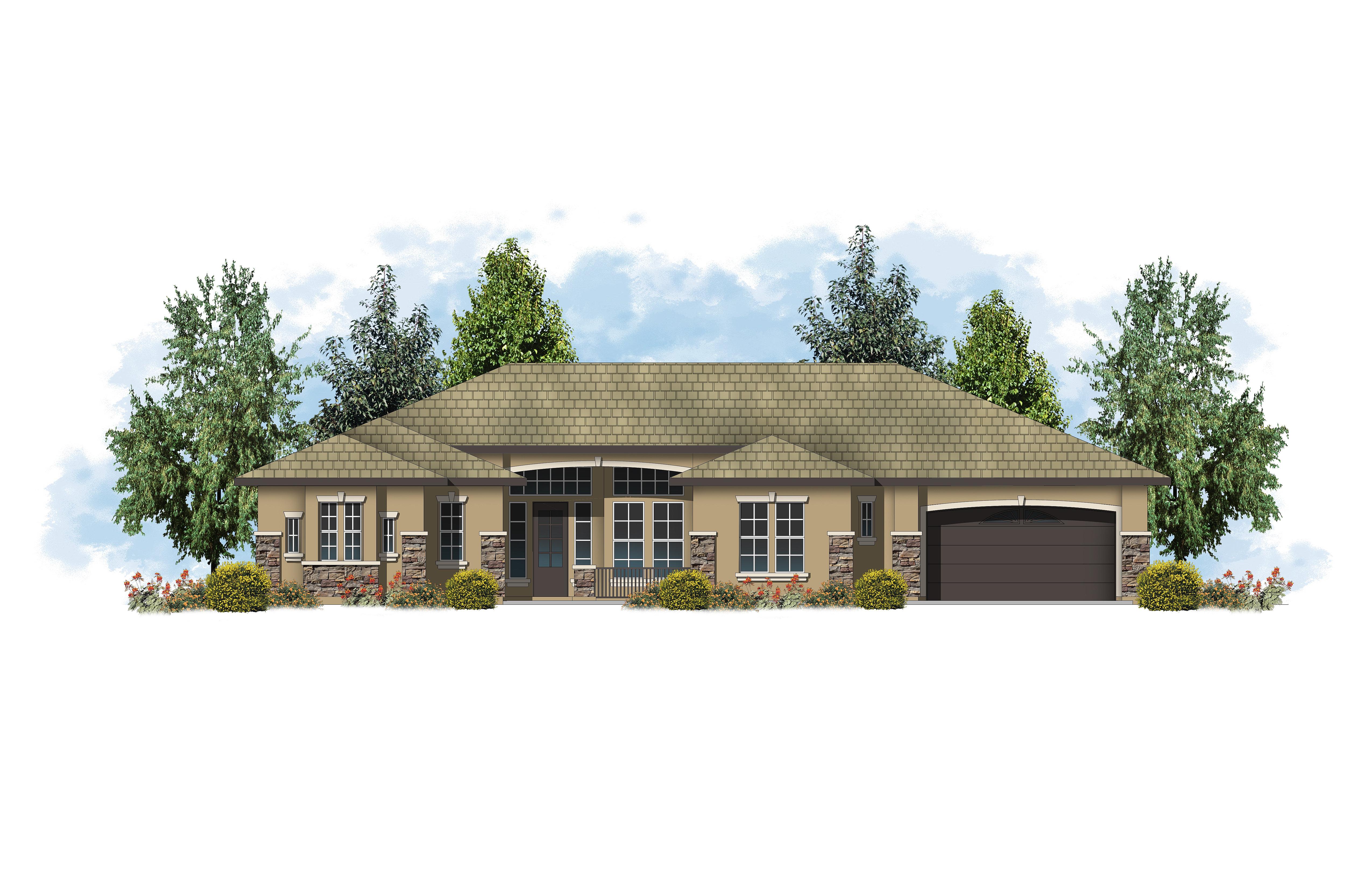 New Homes In Prescott Az Carrington Homes Plan 2435 C