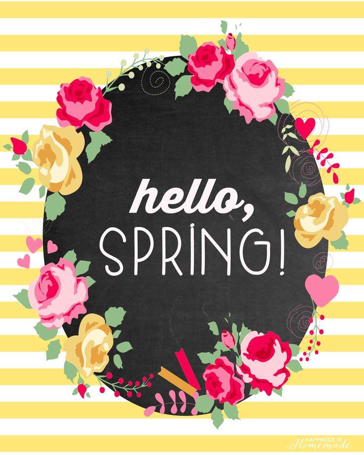 In-Season Spring Flowers