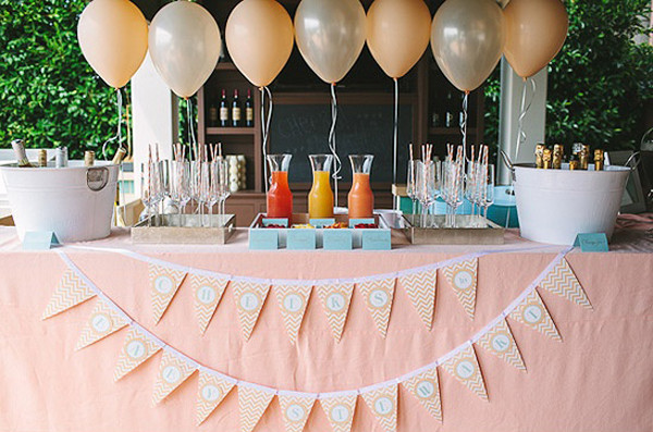How to Throw A Quick Bridal Shower