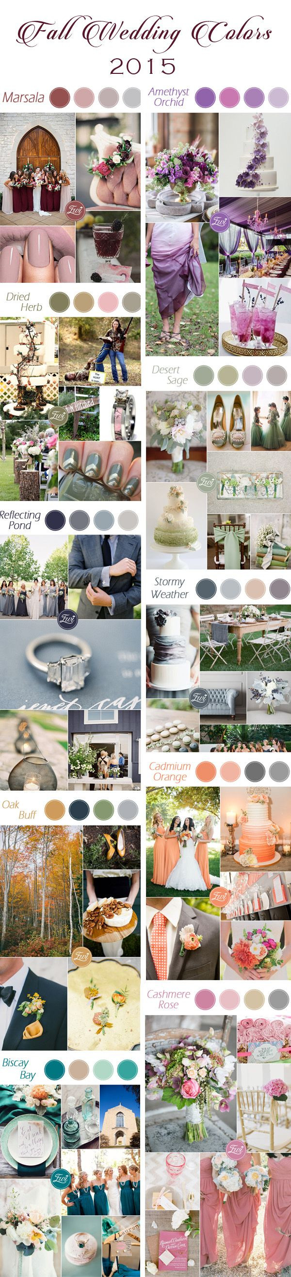2015 Pantone Fall Color Trends