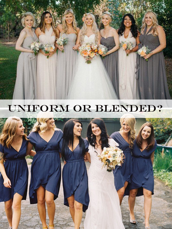 A Blend of Bridesmaid Dresses