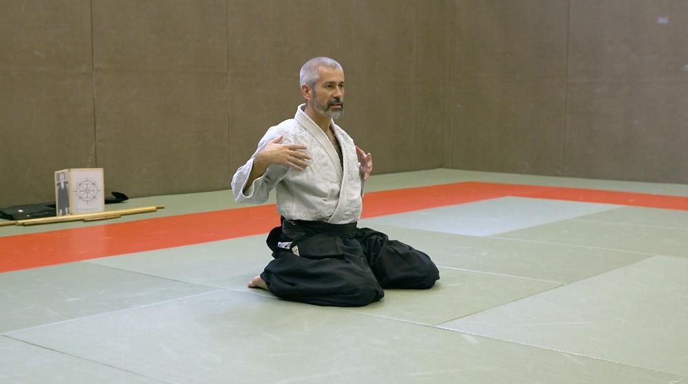 aïki taïso, gcercce, cours, aïkido, ô sensei, traditionnel