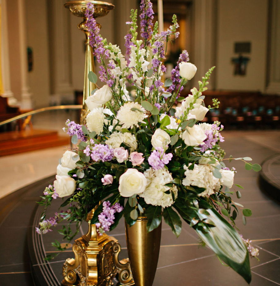 st james cathedral flowers by betty walton