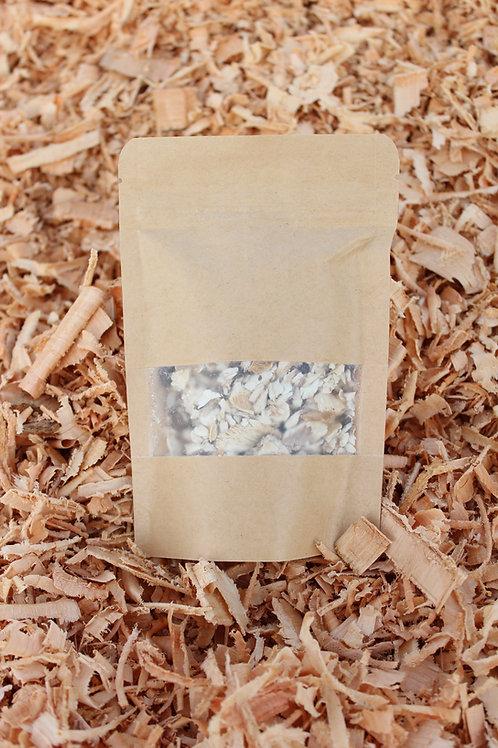 15g Kuivatatud ja purustatud Shiitake seened